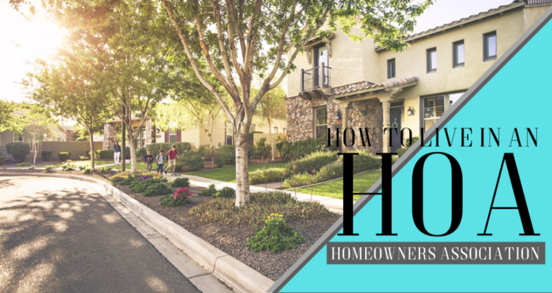 How to Live and Love Your HOA Peoria
